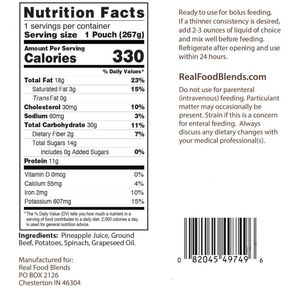 Feeding Tube Meals: Blenderized Tube Feeding | Real Food Blends