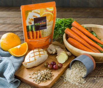 Real Food Blends Orange Chicken, Carrots & Brown Rice