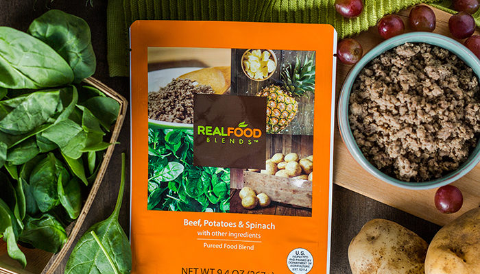 Real Food Blends Beef Meal Tube Fed