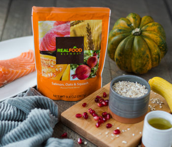 Real Food Blends Salmon, Oats & Squash