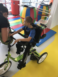Special needs son therapy