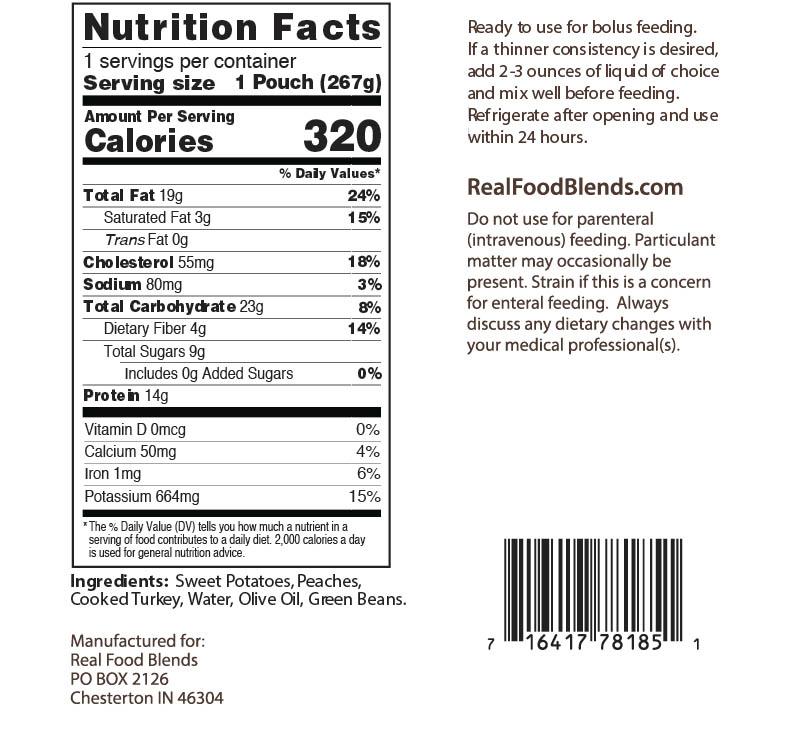 Blenderized Tube Feeding   Real Food Blends